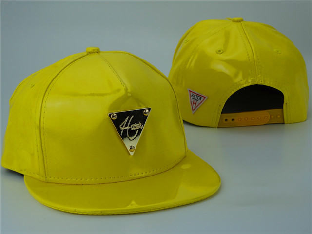 HATER Yellow Snapback Hat ZY 0512